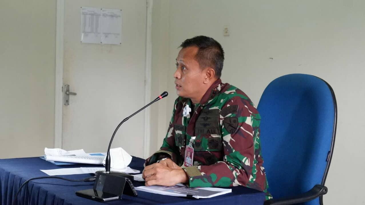 Komandan Lanud Sulaiman Paparkan Materi Zona Integritas