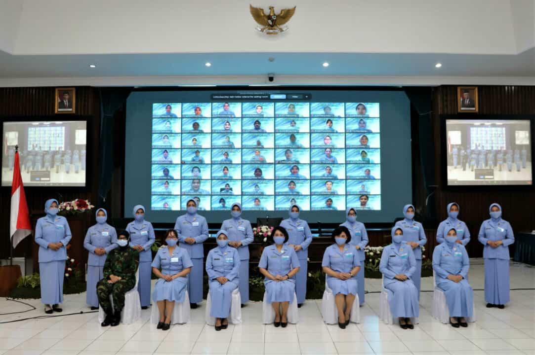 Secara Daring, Penatris Pasis Seskoau A-57 Resmi Dibuka