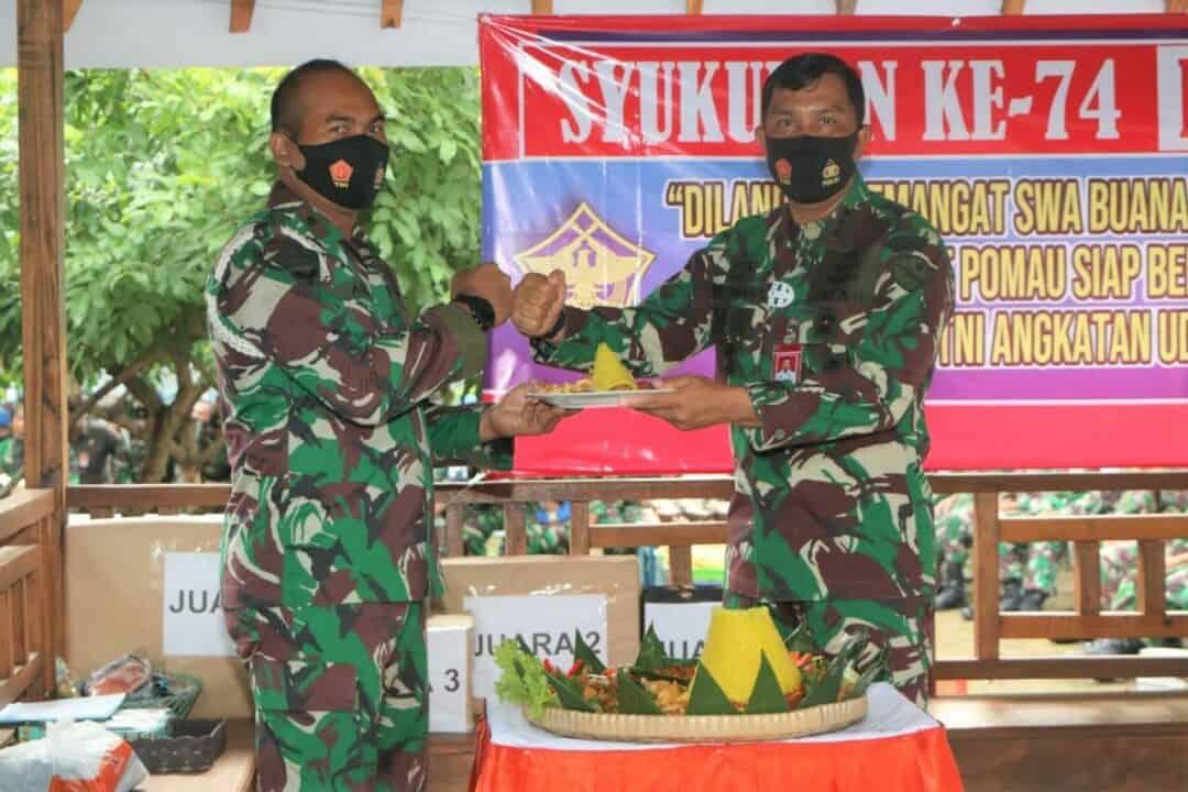 Syukuran HUT Ke-74 Polisi Militer Angkatan Udara di Lanud Adi Soemarmo