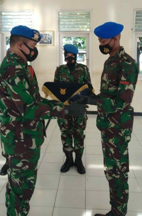 Penutupan Pendidikan Sejursarta Pomau Angkatan Ke-50 di Skadik 405 Lanud Adi Soemarmo
