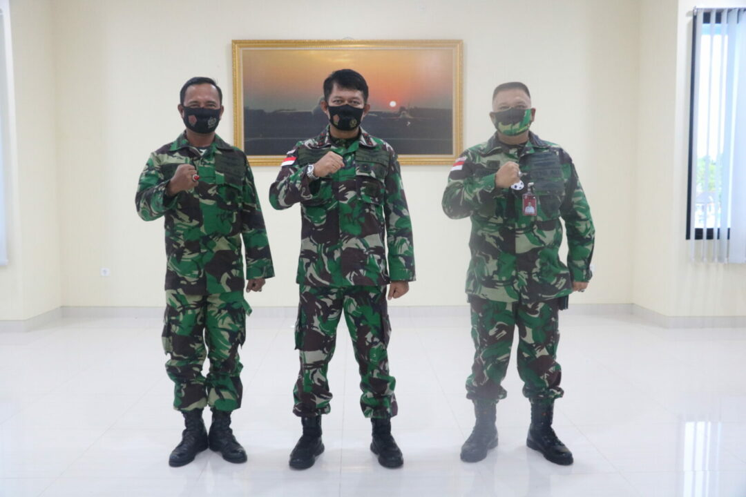 Panglima Koopsau III Melantik Kolonel Lek Lilik Irianto sebagai Askomlek Baru