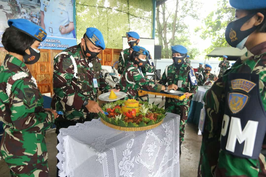Peringatan ke-74 HUT Pomau tahun 2020 di Puspomau
