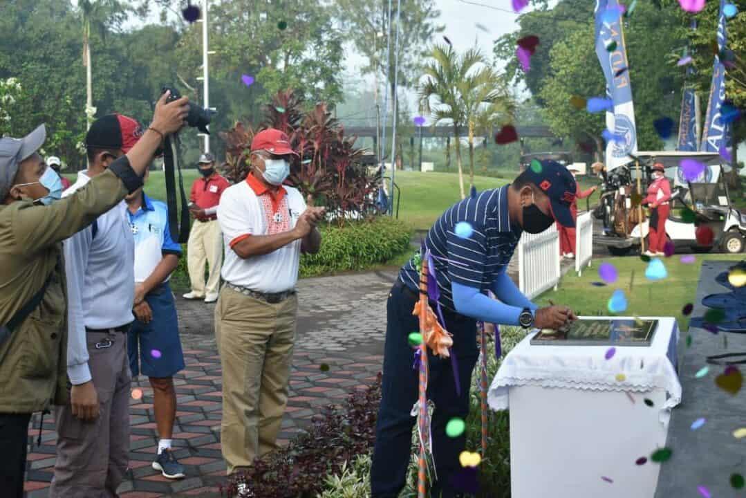 Danlanud Adisutjipto resmikan Taman Padang Golf Lanud Adisutjipto
