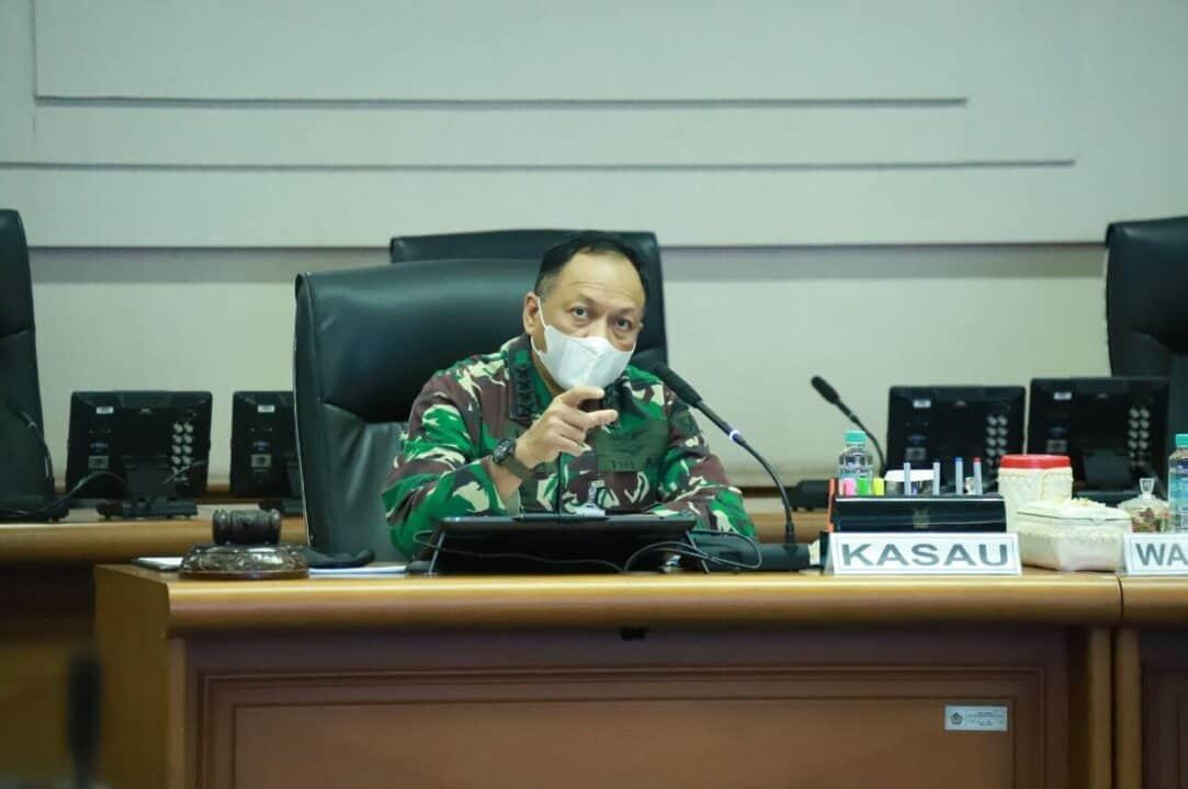 Masa Pandemi, Kasau Minta Jajaran TNI AU Tetap Optimis