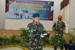 Danlanud Adisutjipto Tutup Pendidikan Juru Montir Udara Angkatan ke-3