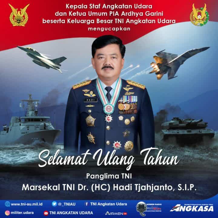 SELAMAT ULANG TAHUN PANGLIMA TNI