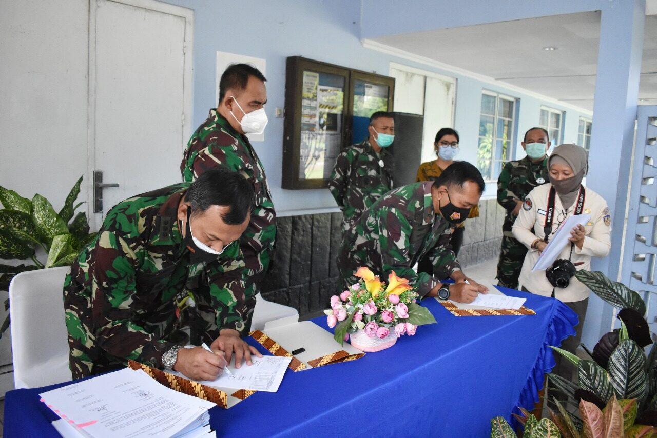 Waaspers Kasau resmikan bangunan Halang Rintang di Skadik 105 Lanud Adisutjipto