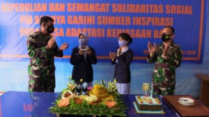 *Ulang Tahun Sederhana PIA AG di Lanud Sam Ratulangi Manado*