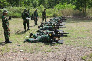 Lanud Sjamsudin Noor Gelar Latihan Menembak Guna Meningkatkan Kemampuan, Pertajam dan Perkuat Skill Prajurit Dibidang Menembak