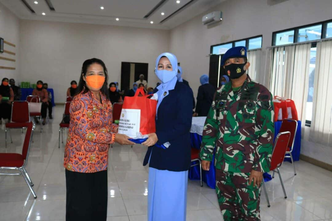 Komandan Lanud Sjamsudin Noor Beserta Ketua PIA Ardhya Garini Cab.11/D.II Lanud Sjamsudin Noor Ikuti Perayaan HUT PIA Ardhya Garini ke-64 Secara Virtual
