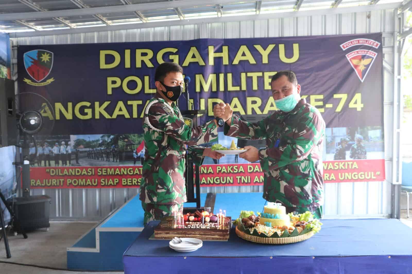 Peringatan HUT Polisi Militer Angkatan Udara ke-74 Di Lanud I Gusti Ngurah Rai