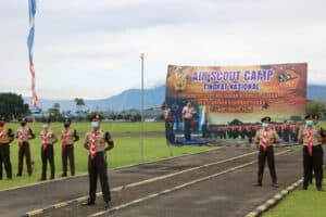 Aero Scout Camp 2020 di Lanud Sulaiman