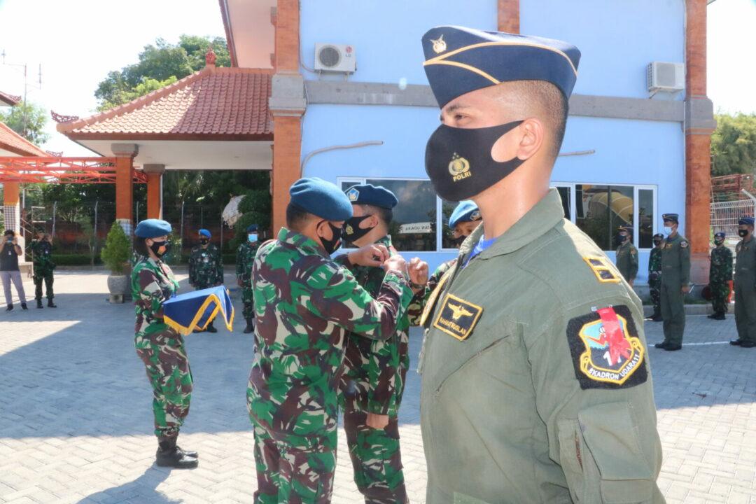 Penutupan Latihan Escape and Eject Penerbang Tempur Koopsau II di Lanud I Gusti Ngurah Rai