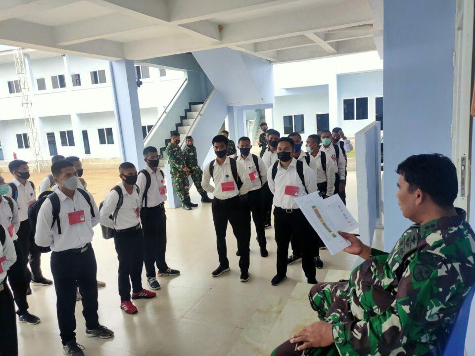 *Seleksi Tamtama Paskhas TNI AU di Lanud Sam Ratulangi Sulut*