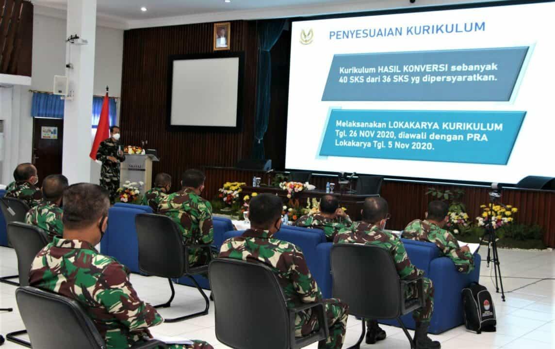 Lokakarya Kurikulum Prodi Magister Terapan Strategi Operasi Udara di Seskoau