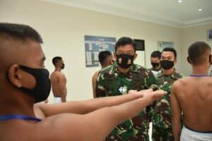 Danlanud RHF Pimpin Sidang Pantukhirda Casis Bintara PK Gelombang II Lanud RHF