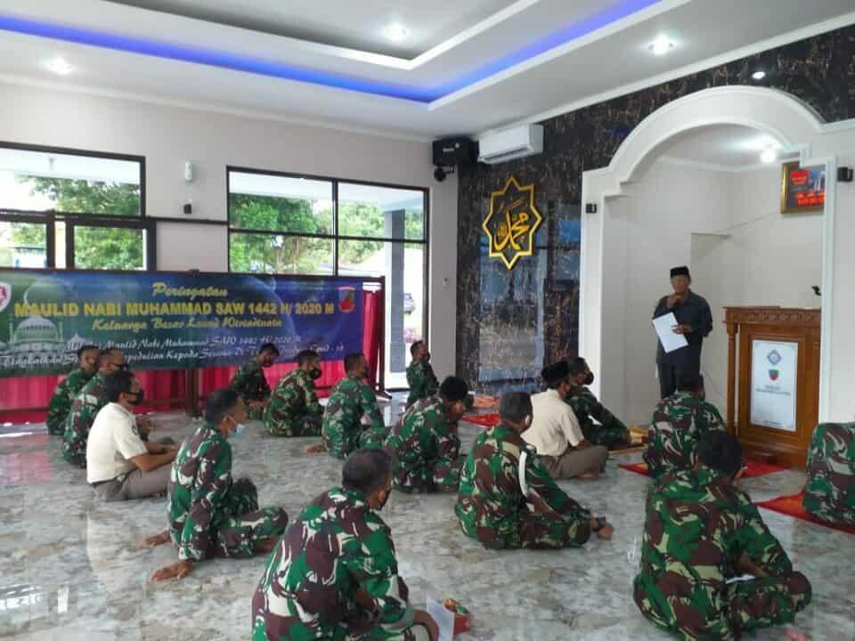 Maulid Nabi Muhammad SAW dan Character Building Di Lanud Wiriadinata