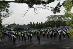 Danlanud Husein S: Kita Dapatkan Calon Prajurit TNI AU Yang Baik Sesuai Dengan Kebutuhan Negara.