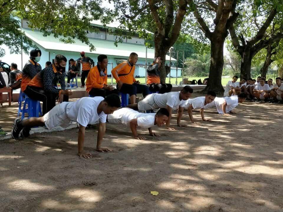 Danlanud Iswahjudi, Ikuti Apel Dansat TNI AU Secara Virtual