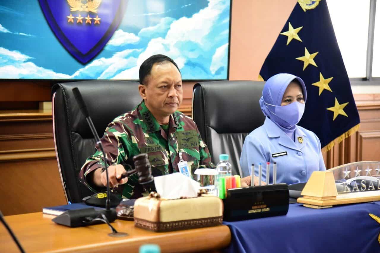 Tutup Apel Dansat TNI AU 2020, Kasau: Saya Menilai Komandan Telah Laksanakan Tugas Dengan Baik