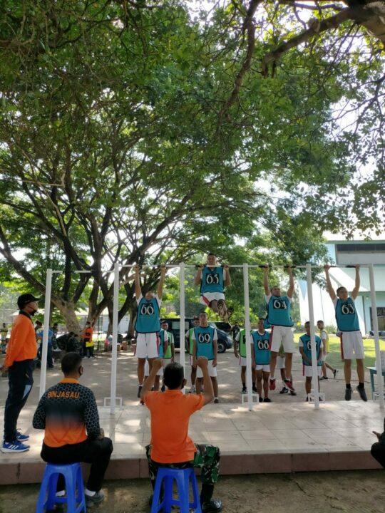 Catar AAU Panda Khusus SMA 3 Taruna Angkasa Madiun, Mulai Jalani Seleksi Penerimaan Di Lanud Iswahjudi.