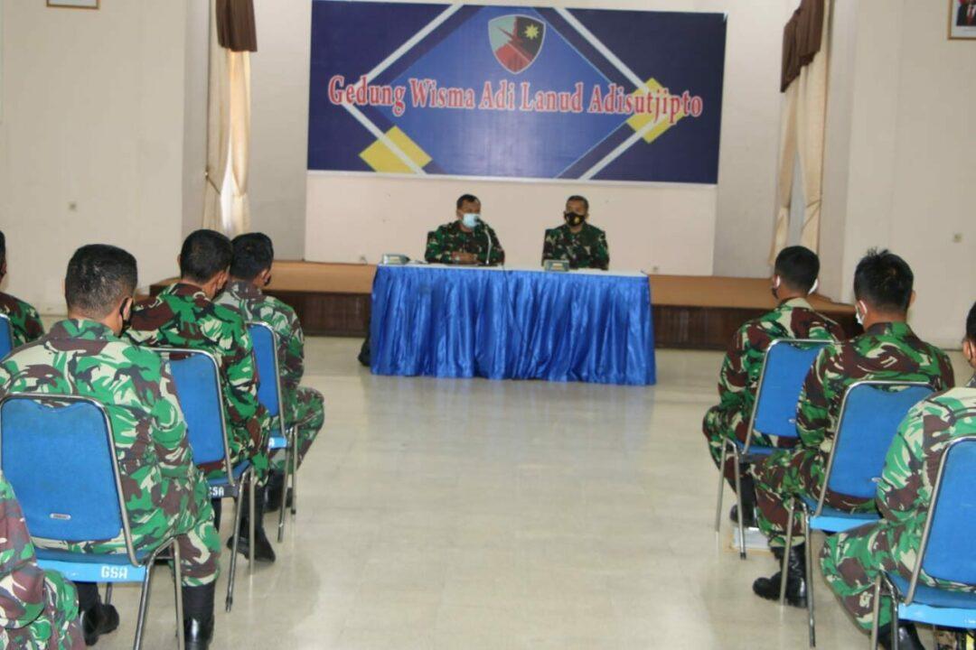 Disdikau beri pengarahan kepada Casis Setukpa Angkatan 24 TA 2020 di Lanud Adisutjipto.