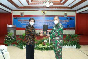 Rakernispotdirga T.A 2020, Aspotdirga : TNI AU Laksanakan Tugas Pemberdayaan Pertahanan Wilayah Udara