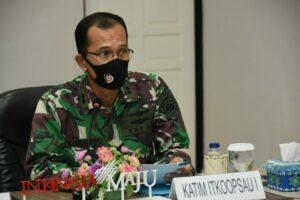 Exit Briefiting Wasrikkap Itkoopsau I di Lanud RHF