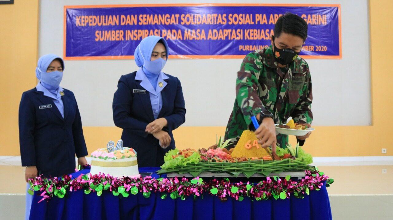 Syukuran Peringatan ke-64 HUT PIA Ardhya Garini Di Lanud J.B. Soedirman
