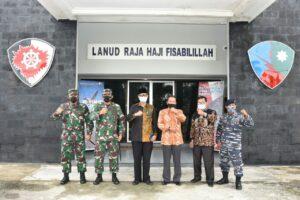 Danlanud RHF Ikuti Rapat Forkopimda Kabupaten Lingga Tahun 2020