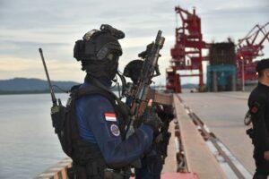 Danlanud RHF Hadiri Latihan Operasi Pembebasan Sandera Koopsus TNI
