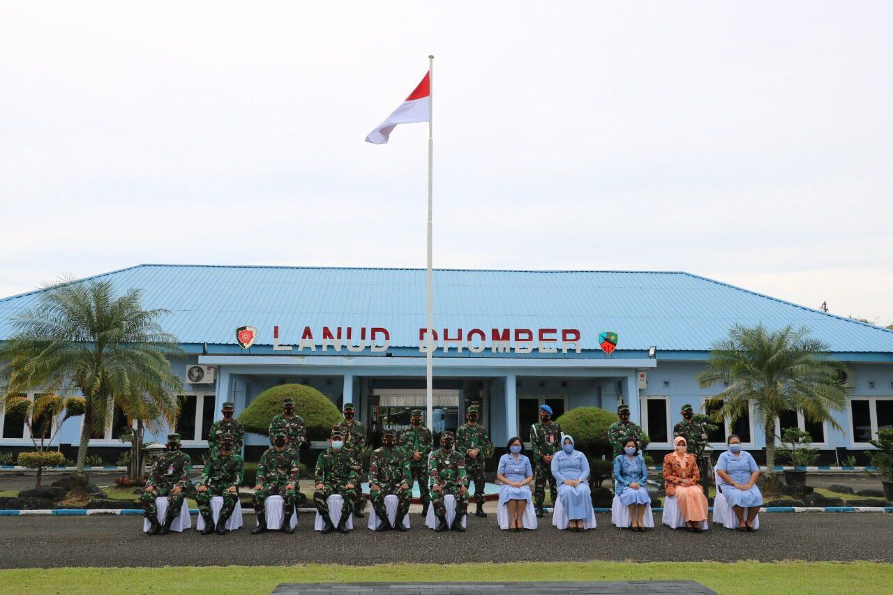 Kunjungan Kerja Pangkoopsau II Di Lanud Dhomber