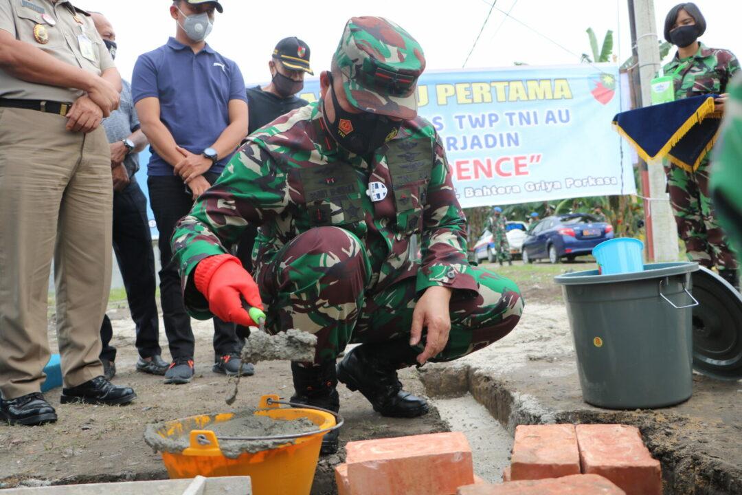 Lanud Rsn Gandeng Pengembang Bangun Rumah Murah Untuk Prajurit dan PNS