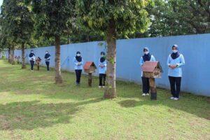 Detasemen Matra 2 Paskhas mendukung kegiatan Herky Charity Drop Operation 2020