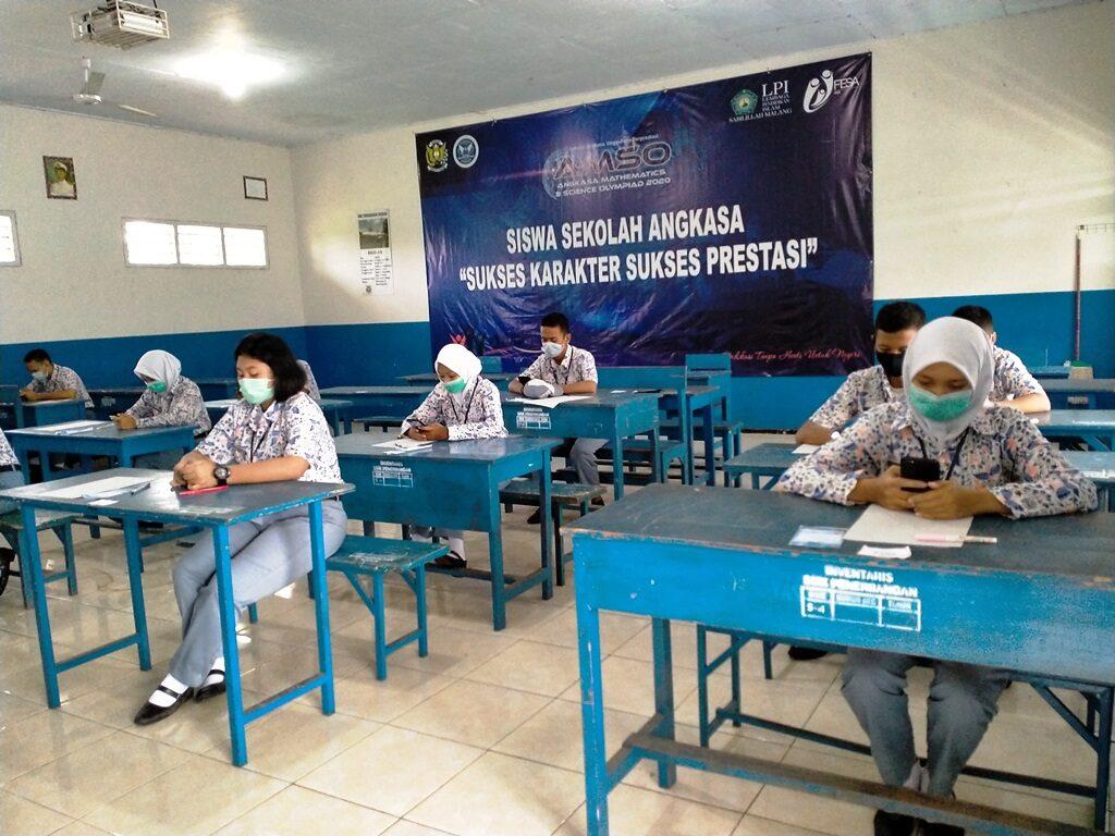 Dua Sekolah Angkasa di Lanud Abdulrachman Saleh Ikuti AMSO 2020