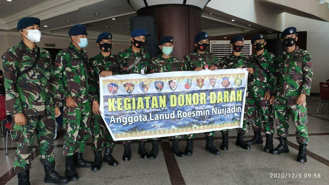 Menjelang Hari Juang TNI AD, Lanud Rsn Kucurkan Darah Segar