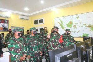 Kasum TNI Kunjungi Lanud RSA Natuna