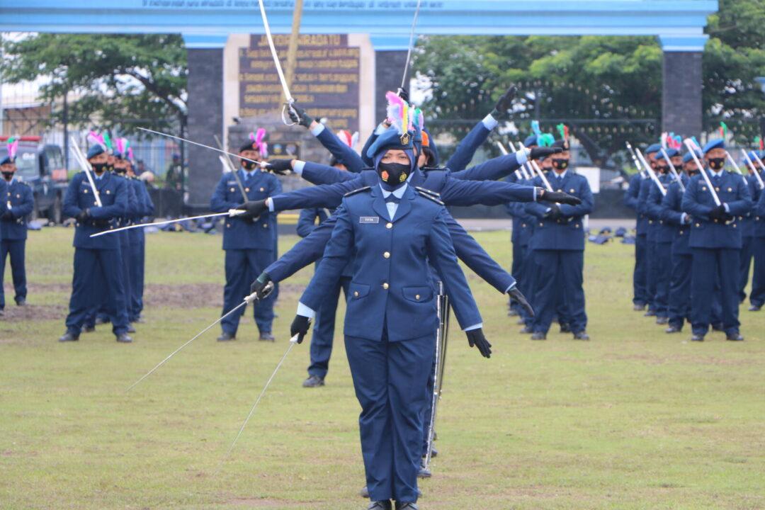 Wakasau Lantik Perwira Baru Setukpa Angkatan ke-23