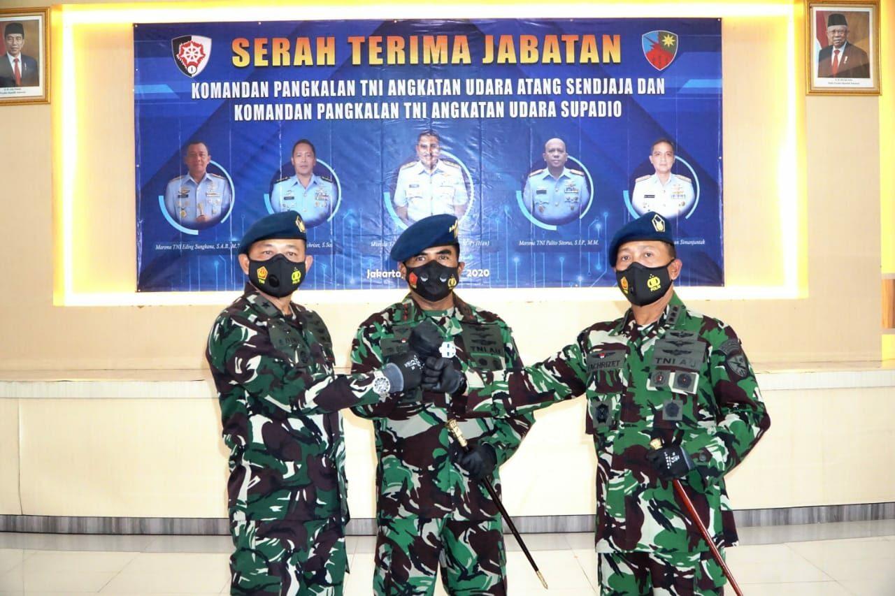 Komandan Lanud Atang Sendjaja Berganti