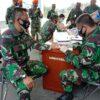 Satkes Wing III Paskhas laksanakan Rappid Test Massal Terhadap Personel dan Keluarga