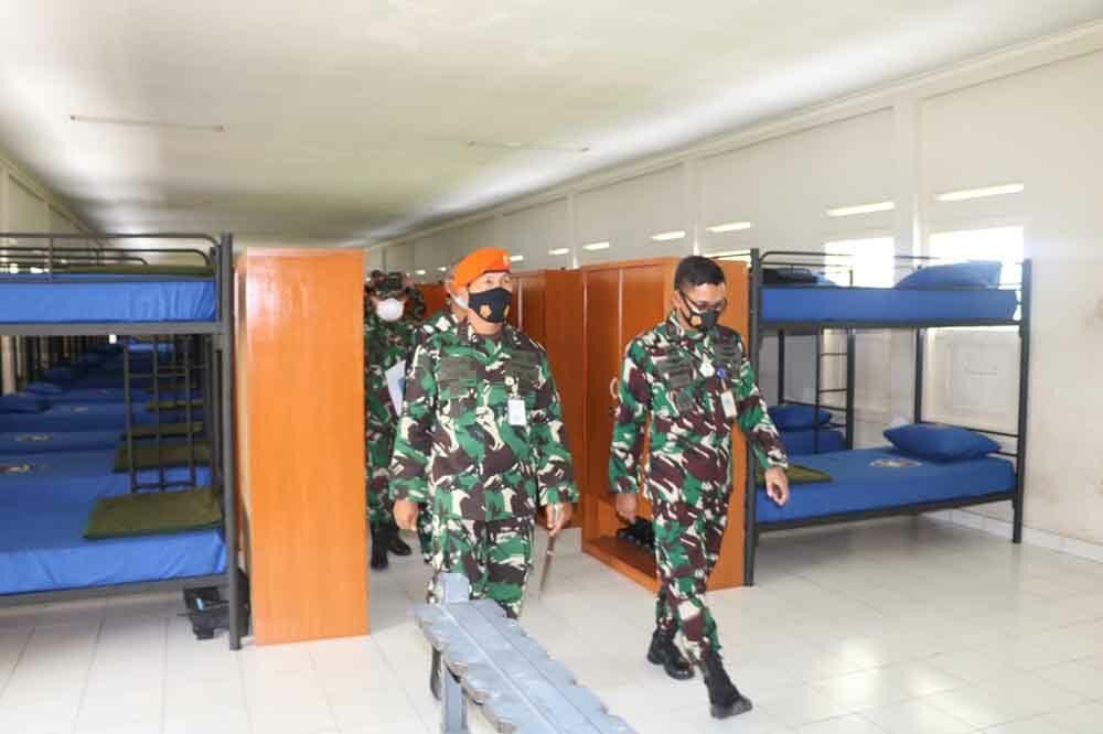 Kunjungan Koordinasi dan Survey Lapangan Werving Tamtama PK TNI AU Gel 1 Khusus Paskhas Th. 2021
