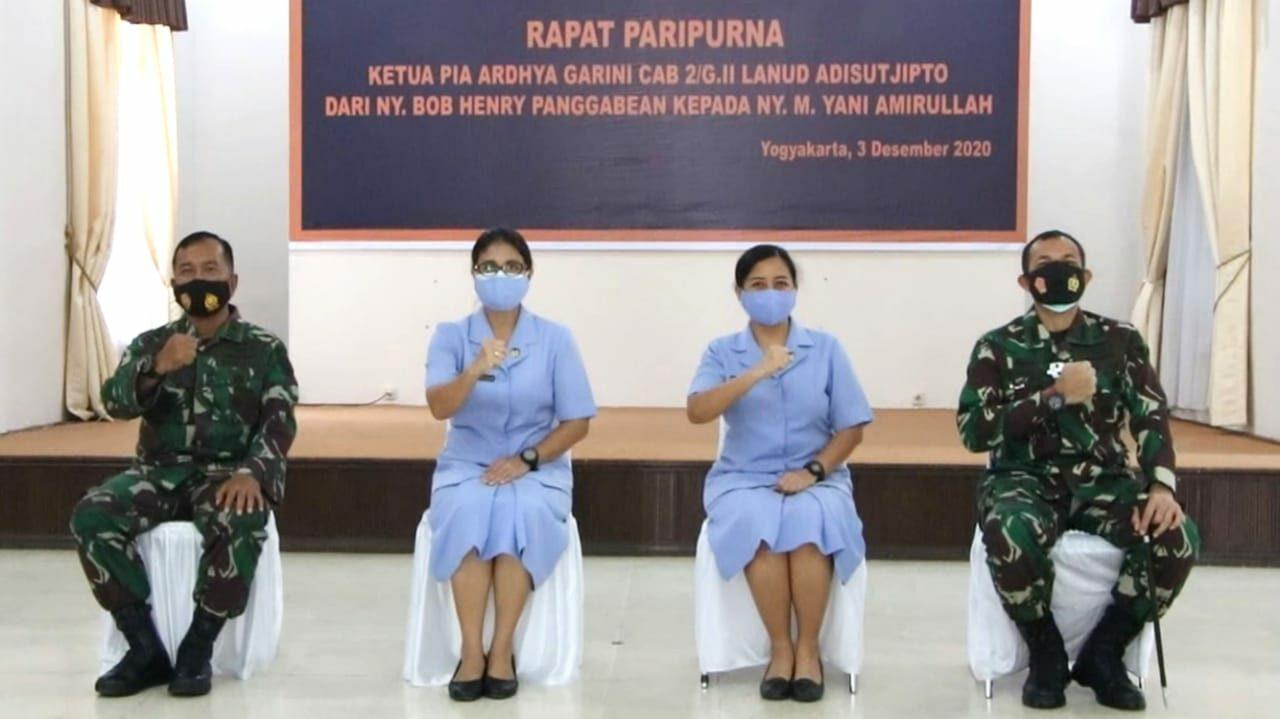 Rapat Paripurna PIA Ardhya Garini Cab 2/Gab II Lanud Adisutjipto