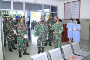 *Panglima Koopsau II Tiba di Lanud Sam Ratulangi*