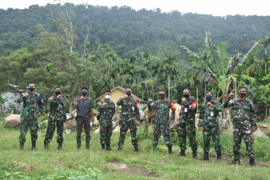 Lanud Maimun Saleh Gelar Patroli Pengamanan Aset.