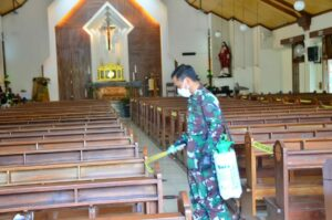 Apel Kesiapan Pengamanan Natal dan Tahun Baru di Lanud Sulaiman