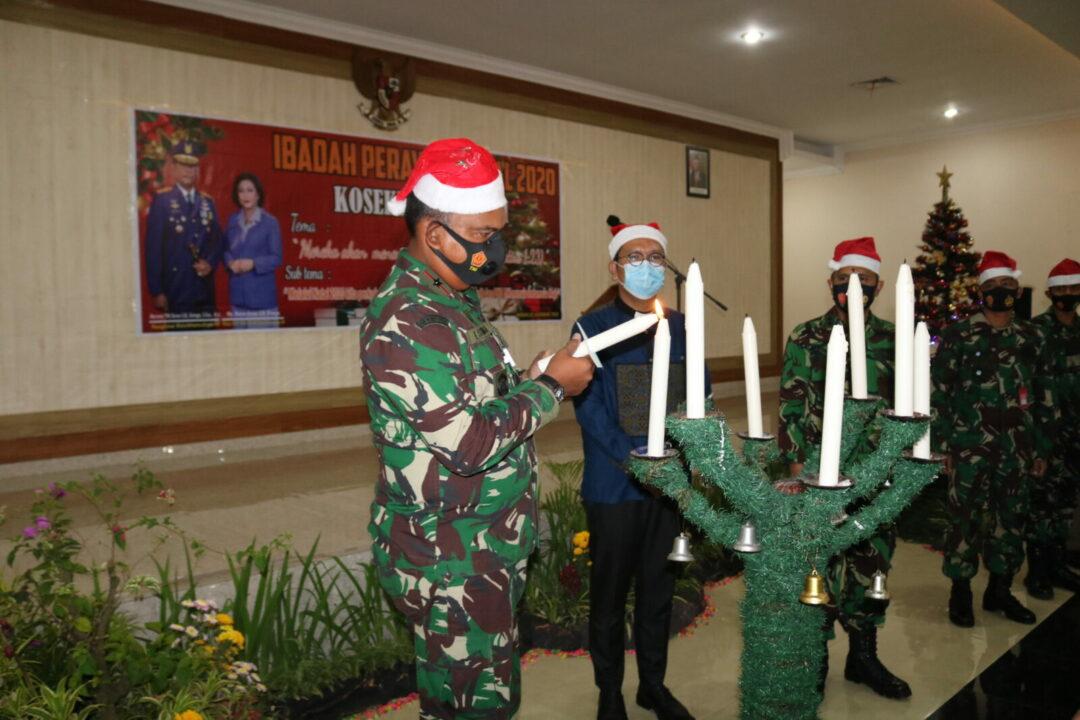 Ibadah Perayaan Natal 2020 Kosekhanudnas III