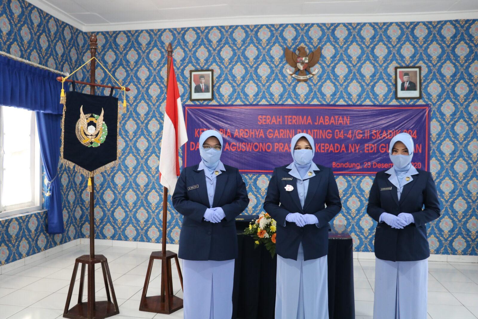 Sertijab Ketua PIA AG Ranting 04-4/G.II Skadik 204 Lanud Sulaiman