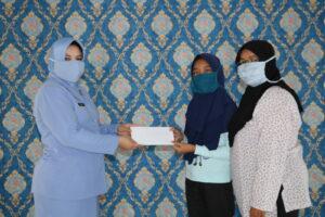 Enam Siswa Sekolah Angkasa Terima Dana Bantuan dari PPAA Perwakilan Kodiklatau