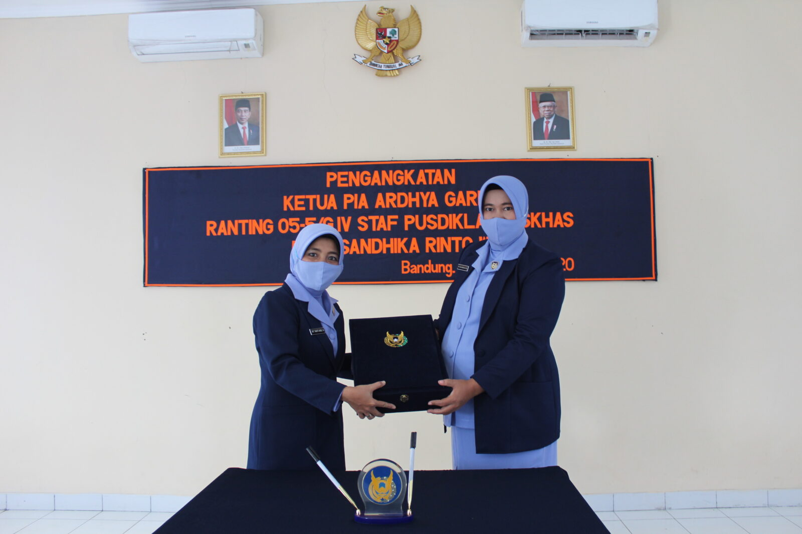 Pengankatan Ketua PIA Ardhya Garini Ranting 05-5/G.IV Staf Pusdiklat Paskhas