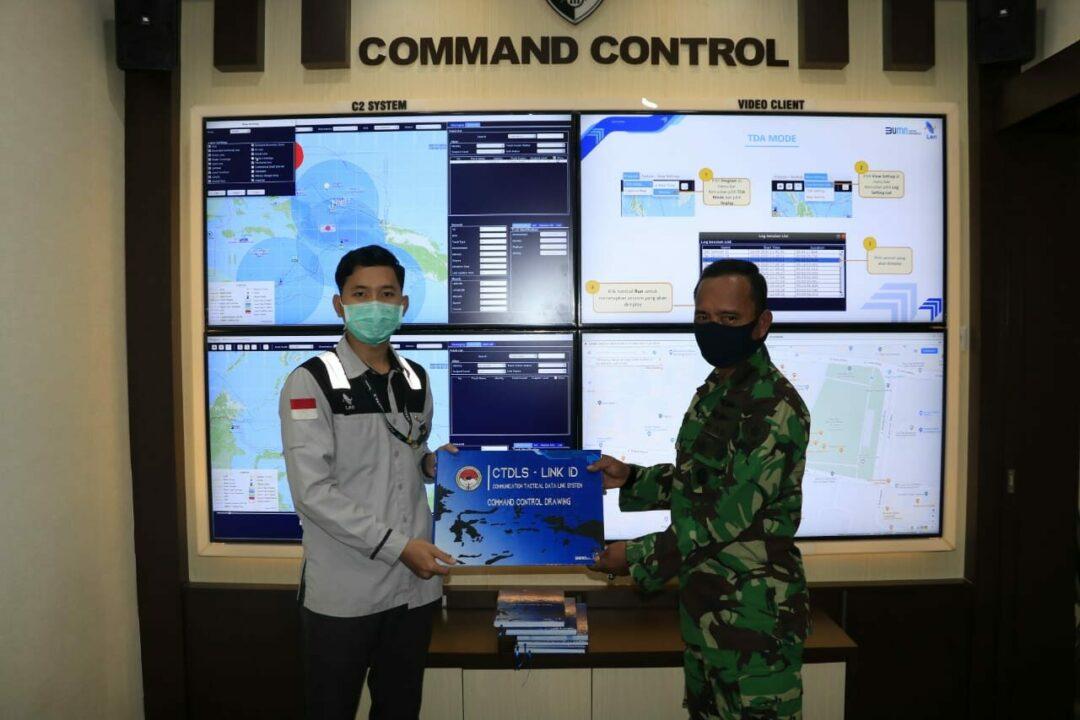 Perkuat Kemampuan C4ISR Personil Koopau III Ikuti Pelatihan Singkat CTDLS Dari PT. LEN Industri